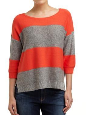 Sussan's Split hem boxy pullover.67% Cotton 33% Linen. AUD $79.95