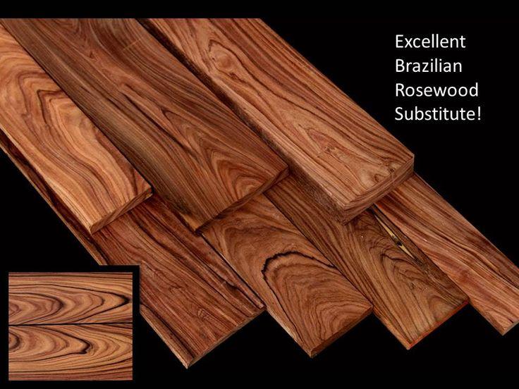 Exotic Wood Bolivian Rosewood Macherium Scleroxylon