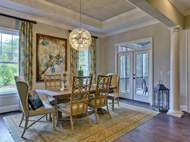Dining room by evans coghill homes sw accessible beige
