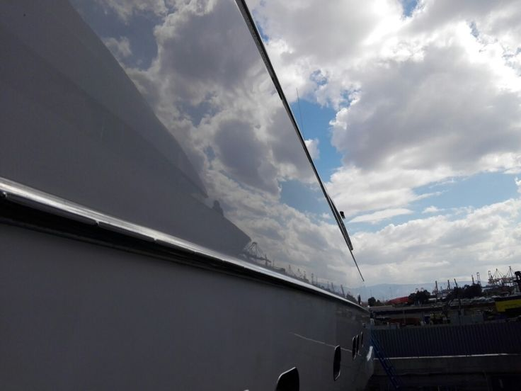 Polishing??Yes mirror finish only by yacht experts.