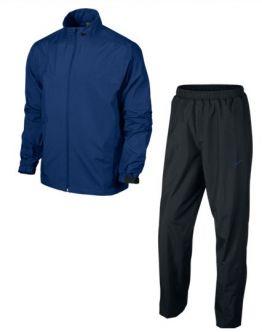 Traje de agua Nike Golf Storm-Fit. Pantalón y chaqueta de golf impermeables, fabricado con tejido resistente al agua y al viento, ideal para mantenerle seco y cómodo, mientras juega a golf.