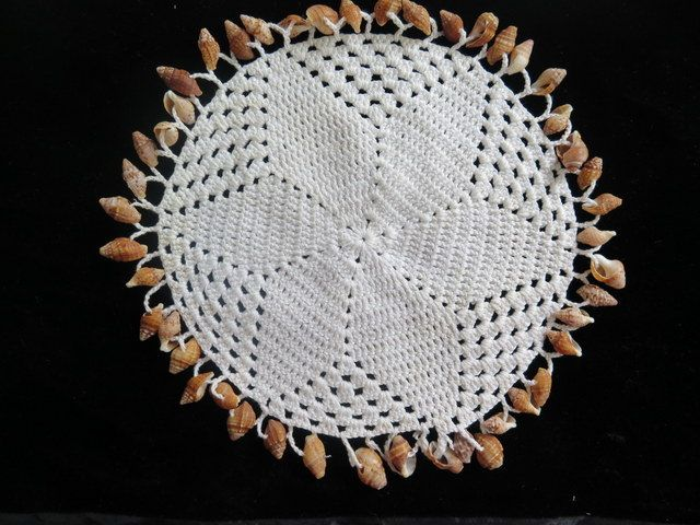 Vintage Beaded Doilies//Vintage Jug Covers by Waitingforgeorge on Etsy