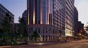 • Wyndham Cleveland Hotel at Playhouse Square  located right in the midst of the excitement of Playhouse Square and within walking distance to Progressive Field, Cleveland State University, and the Quicken Loans Arena.. 205 guest rooms and suites
