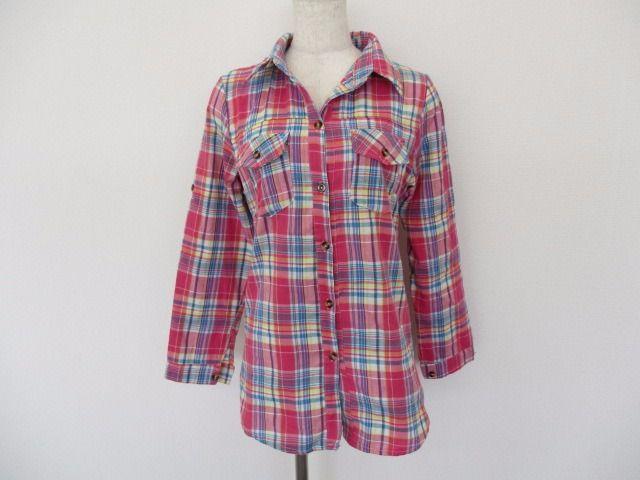 メルカリ商品: BBaroma 長袖 シャツ レディース Lサイズ チェック柄 ピンク #メルカリ