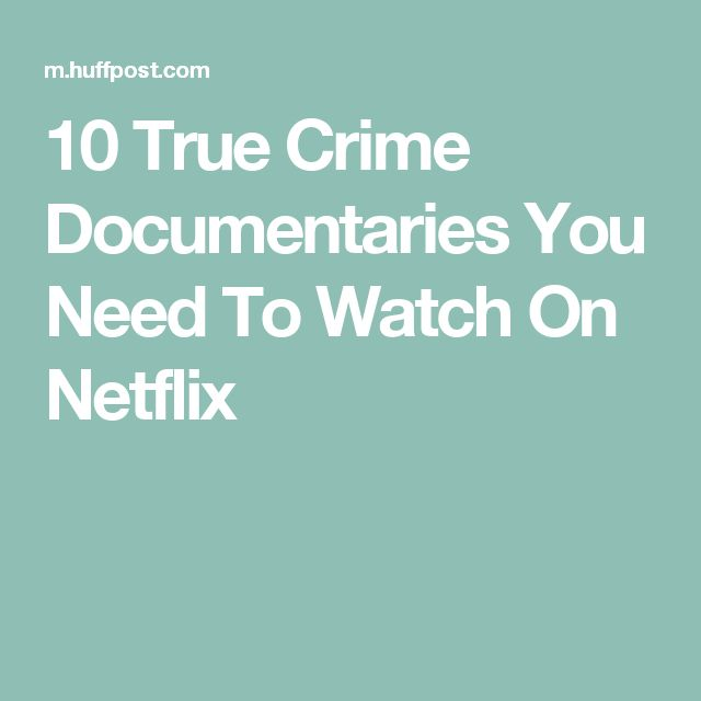 true crime documentaries and tv shows Then check out our list of 10 of the best true crime documentaries on netflix   this 13-part series pieces together episodes from the cult status.
