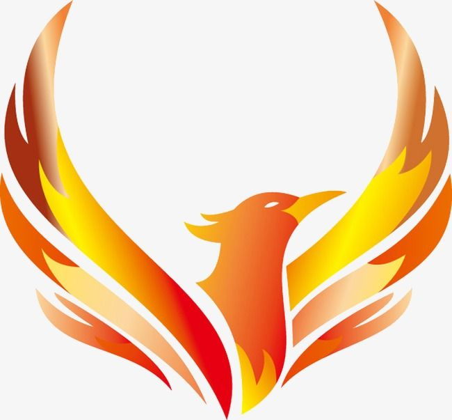 Phoenix Logo Vector Design Logo Clipart Mark Phoenix Png Transparent Clipart Image And Psd File For Free Download Bird Logos Bird Logo Design Fire Bird