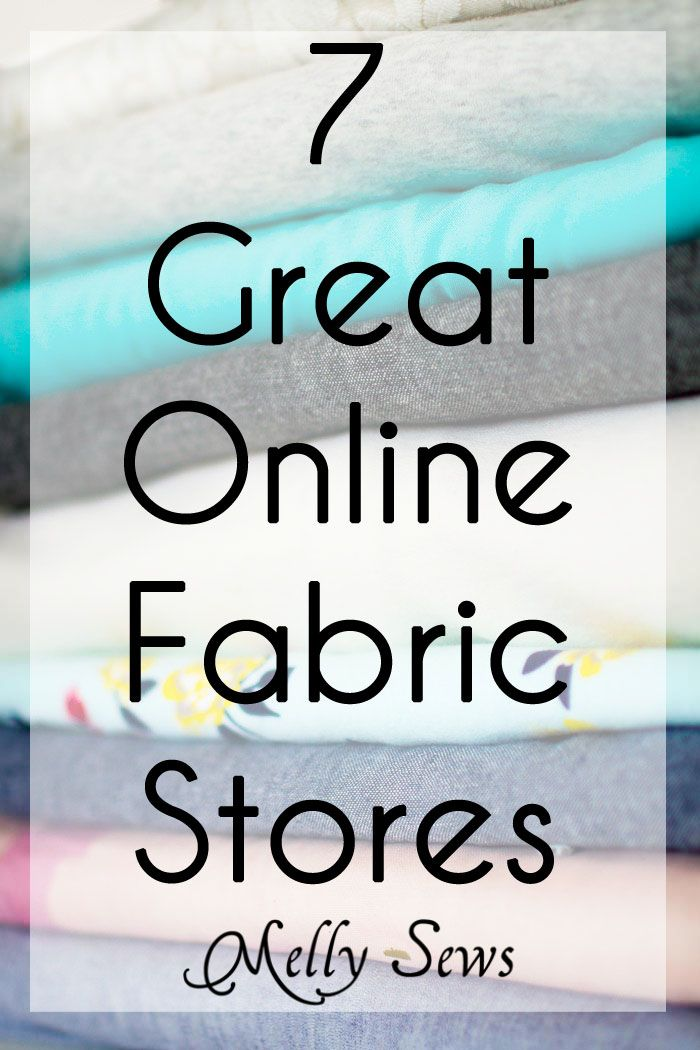 Hey y'all – today I want to answer a question I get a lot – where do you buy your fabric? So I'm going to talk about 7 great online fabric stores that are my personal go-tos when I shop. Before I get into the stores, though, I want to add a few disclaimers. This Read the Rest...