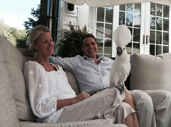 Sandra Lee Leaves Hospital After Breast Cancer Surgery, Now at Home With Andrew Cuomo and Pet Birds  Sandra Lee, Andrew Cuomo