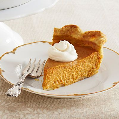 Ina Garten's Ultimate Pumpkin Pie with Rum Whipped Cream.. Word is that this pie is pretty awesome.
