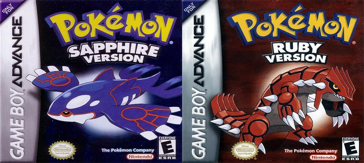 15th Anniversary: Pokemon Ruby and Sapphire by Game Freak  #gaming #games #gamer #videogame #video #game #gamers #Retrogame #retrogamer #retrogames #retrogaming