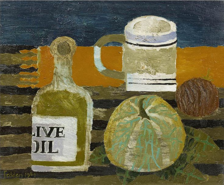 Mary Fedden | The Olive Oil Bottle
