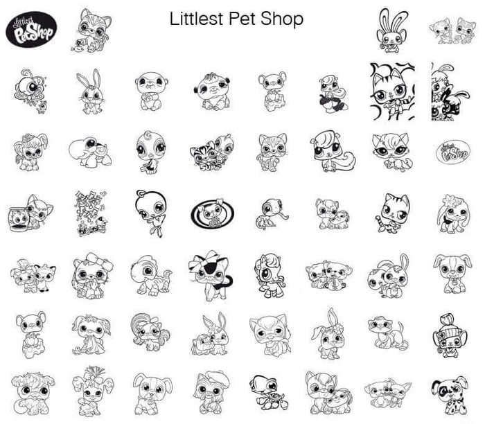 Littlest Pet Shop Coloring Pages For Kids Free Printable Coloring Books Little Pet Shop Coloring Pages