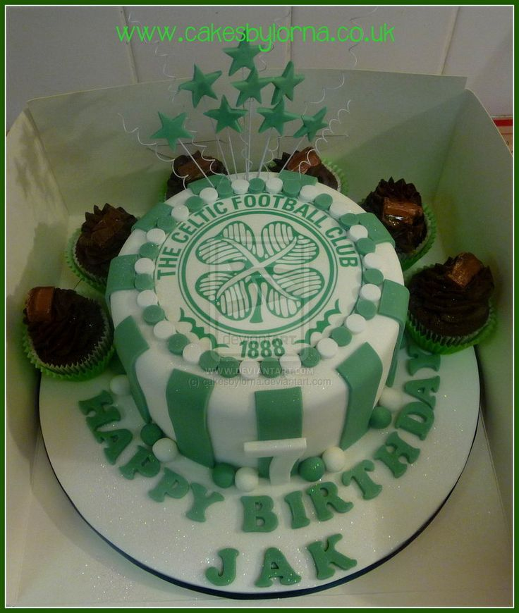Celtic Fc Wedding Cake Toppers
