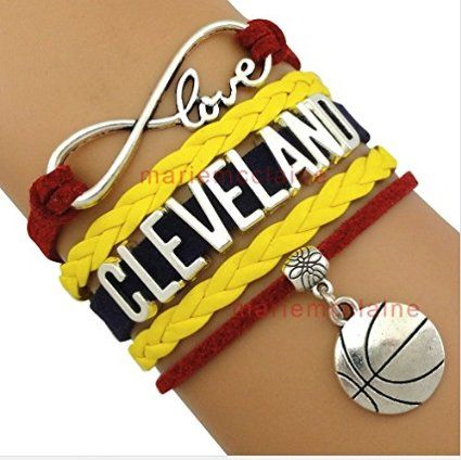 #Cleveland #Cavaliers Bracelet, #cavs Basketball Bracelet,