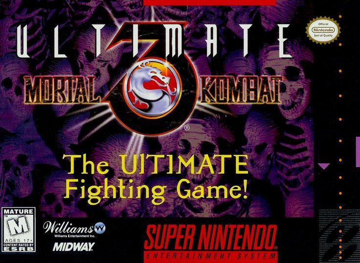 Ultimate Mortal Kombat 3 SNES Super Nintendo
