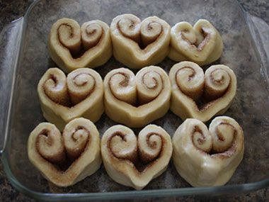 15 Heart Shaped Food Recipes for Your Love (if you can't think of anything to get him, at least he will always love food)