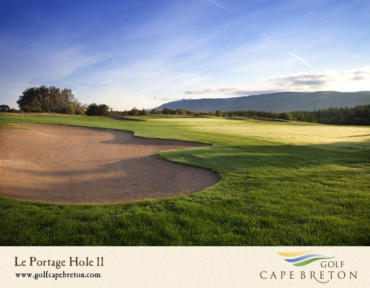 One of Cape Breton's most demanding tests of golf is set upon a plateau with majestic views of the mighty Atlantic, as well as,the mountains of the Cape Breton Highlands. Le Portage was built 'by the people, for the people' in the spirit of a unique co-op movement which made 300 years of settlement possible by Acadians in the region.