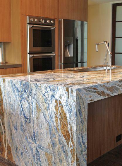 bluejeansmarble bluejeans marble block marbleblock marbletile tile granite naturalstone stone slab design countertop wall marbleslab decor - Stone Slab Kitchen Decor