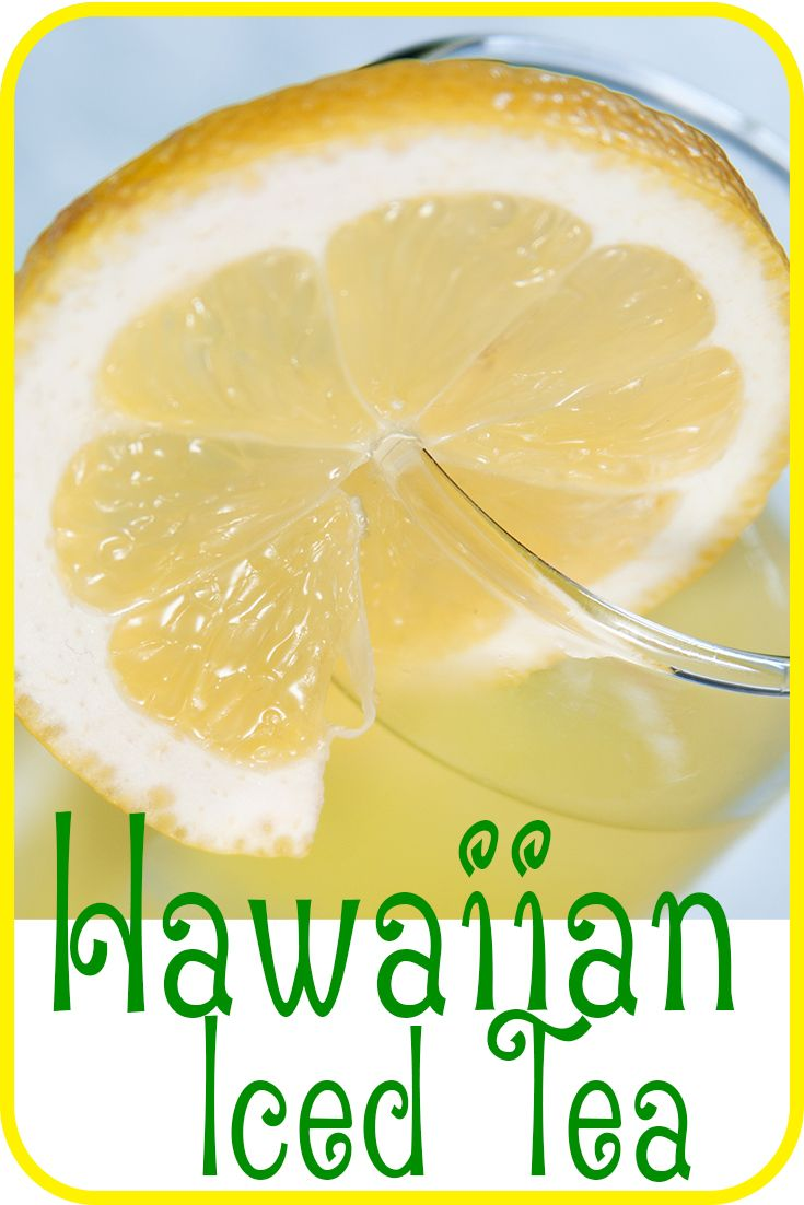 Bring your Long Island Iced Tea to the tropics with the Hawaiian Iced Tea.