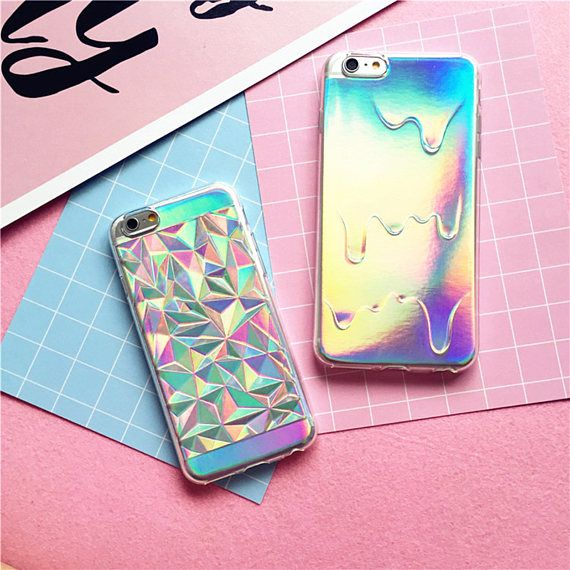 ::: Specification ::: Compatible Model : for iPhone 7 7 Plus 6 6S 5 5S SE Design : Geometric Case Holographic Iridescent Card Rainbow 3D Diamond case  1. 100% brand new high quality 2. easy to insert and remove 3.Anti-dust /anti-impact/Shock-absorption 4.Exquisite craftsmanship and Stylish design 5.Perfect as gifts for your friends and families. Compatible With:For iPhone Package Included : 1 x Soft Case