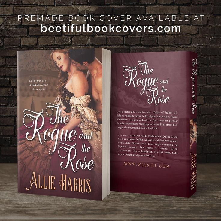 The Rogue and the Rose - Historical Romance Premade Book Cover For Sale @ Beetiful Book Covers #bookcover #premade #premadebookcover #historicalromance #design #beetiful #regency