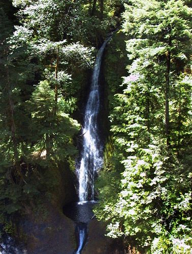 Eagle Creek - Loowit Falls. Near me in Oregon.