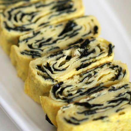 Zebra Egg Roll, Korean Rolled Tamagoyaki