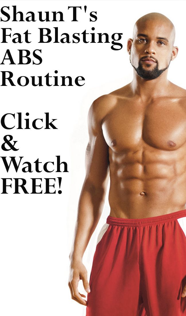 Fast Belly Blast: Shaun T's Abs Workout - Watch Free Now!