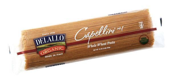DeLallo Italian Organic Whole-Wheat Pasta