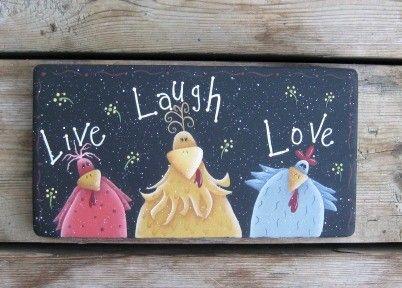 Live Laugh Love Cute Sign by ChristineSherriffs.Etsy.com, 47.00