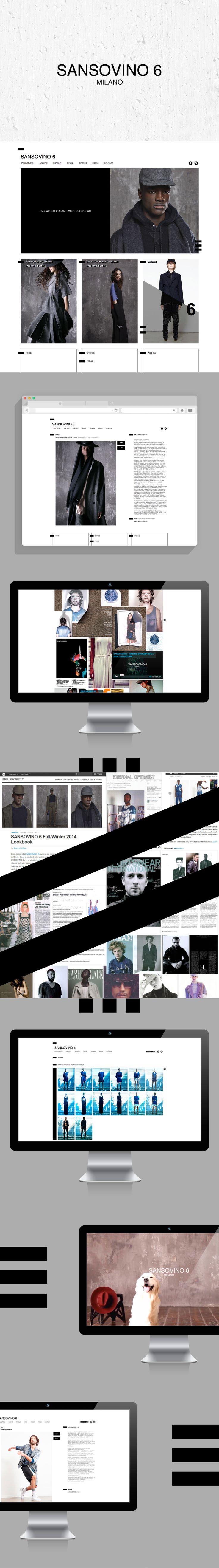 SANSOVINO 6 / Web Design 2014 DESIGN BY HOUKART  www.houkart.com #Design #Houkart #Web #SANSOVINO6 #Milan #THESITUATION www.sansovino6.it