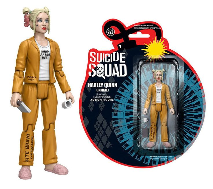 Suicide Squad Actionfigur Harley Quinn (Inmate) 12 cm