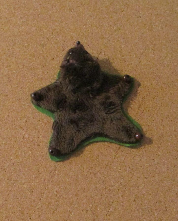 221B Baker Street - bearskin rug