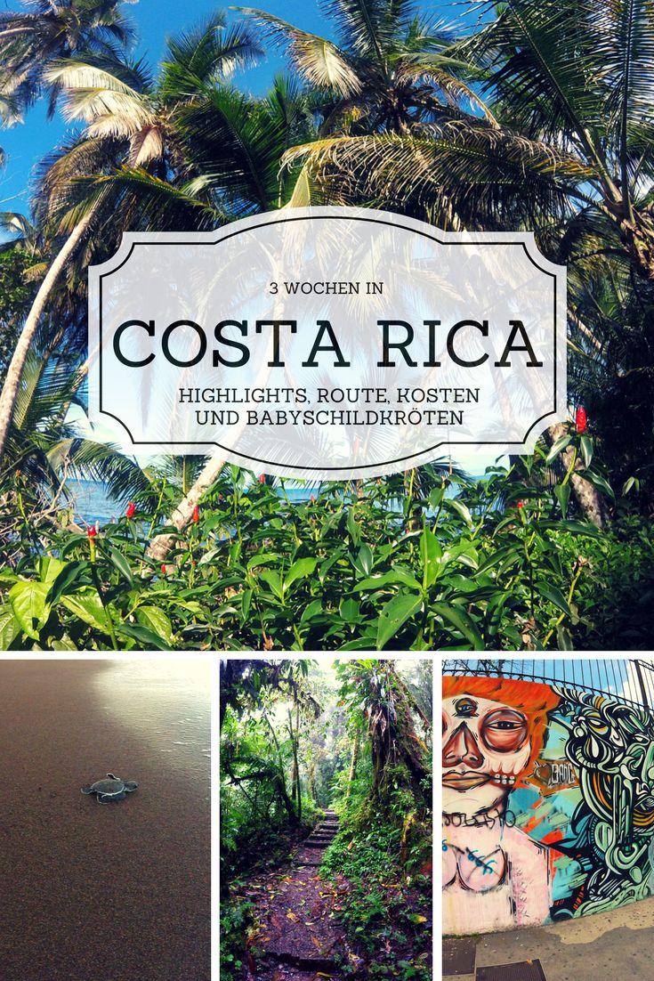 Highlights und Reisetipps für 3 Wochen in Costa Rica - wir stellen dir knackig unsere liebsten Destinationen vor sowie Routenvorschläge, Unterkünfte, Kosten, typisches Essen, und alles zum Thema Sicherheit.