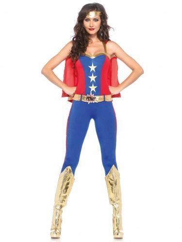 Déguisement super héroine femme : Deguise-toi, achat de Déguisements adultes