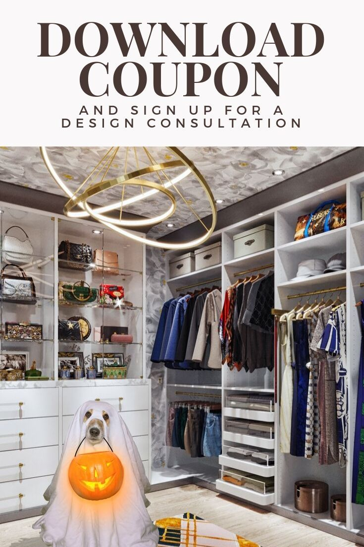 Hey Boo Tiful Get A Spooktacular Coupon To Save On Your Custom Closet Dream Closet Design Custom Closet Closet Design