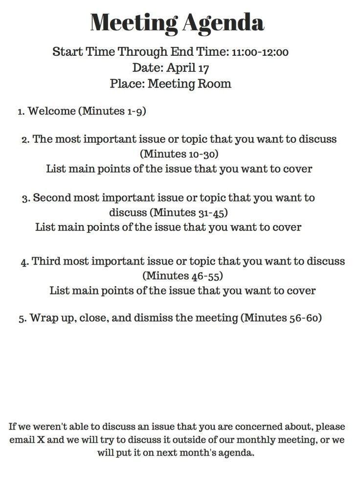 Image Result For Leader Meeting Outline Meeting Agenda Template Team Meeting Agenda Meeting Agenda