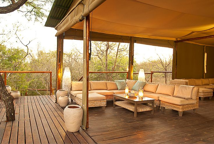Ngama Tented Safari Lodge in Guernsey Nature Reserve