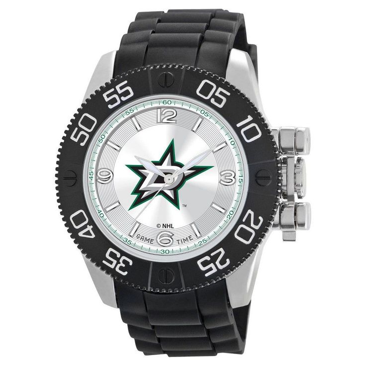 Men's NHL Game Time Dallas Stars Pearl Series Watch - Black