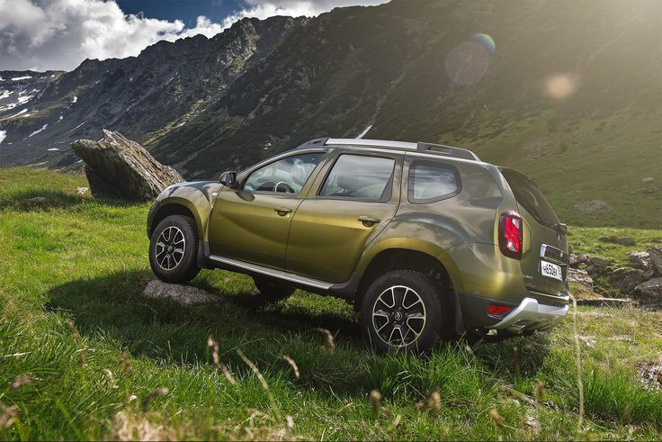 New Renault Duster In The Mountains Of Romania