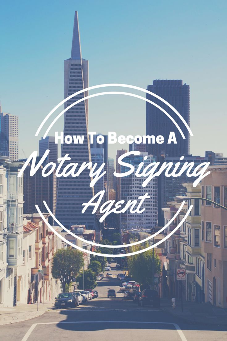 Interested In Becoming A Notary Signing Agent To Facilitate Loan Closings  For The Mortgage Finance Industry