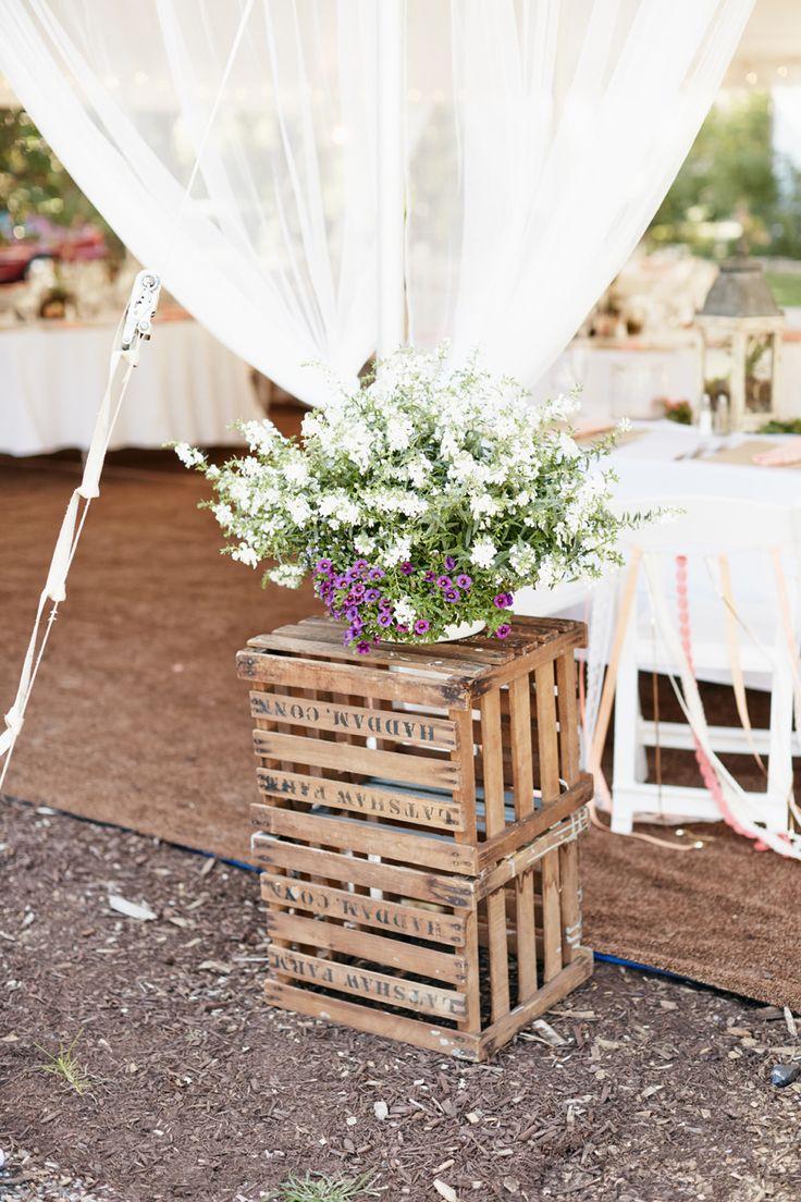 Photography: Collin Hughes - collinhughesweddings.com/  Read More: http://www.stylemepretty.com/2014/04/18/diy-connecticut-garden-wedding-at-burr-homestead/