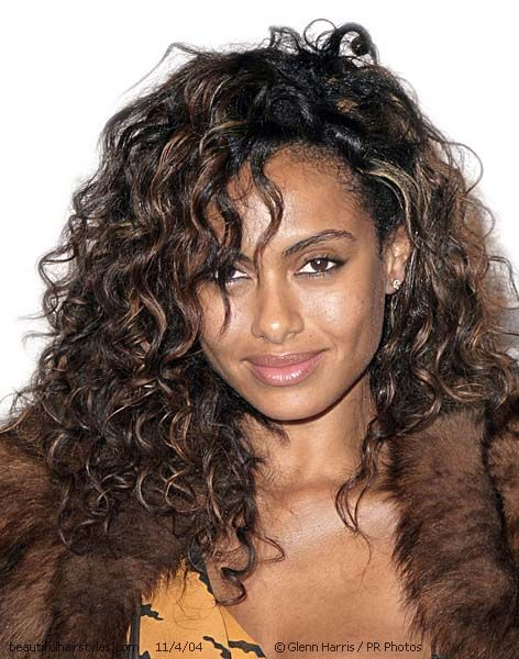 Dark curly hair with highlights gallery hair extension hair best highlights for dark curly hair the best curly hair 2017 60 looks with caramel highlights pmusecretfo Images