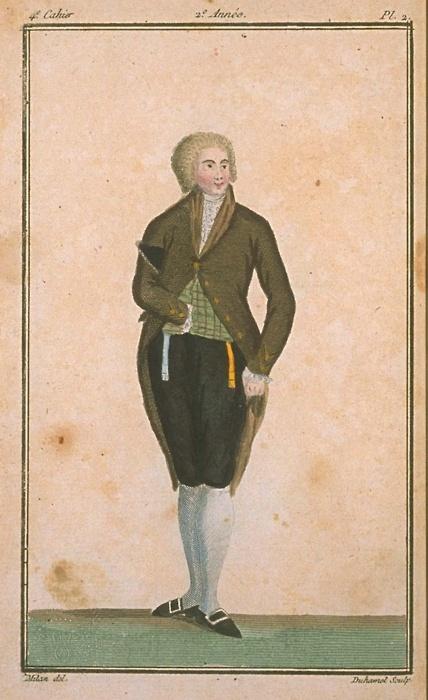Magasin des Modes, December 1786.