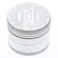 Magno Mix Lasered Aluminum Herb Grinder 50mm -Magno Blades Logo - 4-part - #grinder #grinders #stoner #stoners #weed #cannabis #lover #lovers #gift #gifts #idea #ideas #marijuana #ganja #buy #headshop #online #smoke #pot #medical #bong #bongs #for #pipe #pipe #water #glass #sale #for #best #cheap #thc #kush #bud #hemp #legalize #420