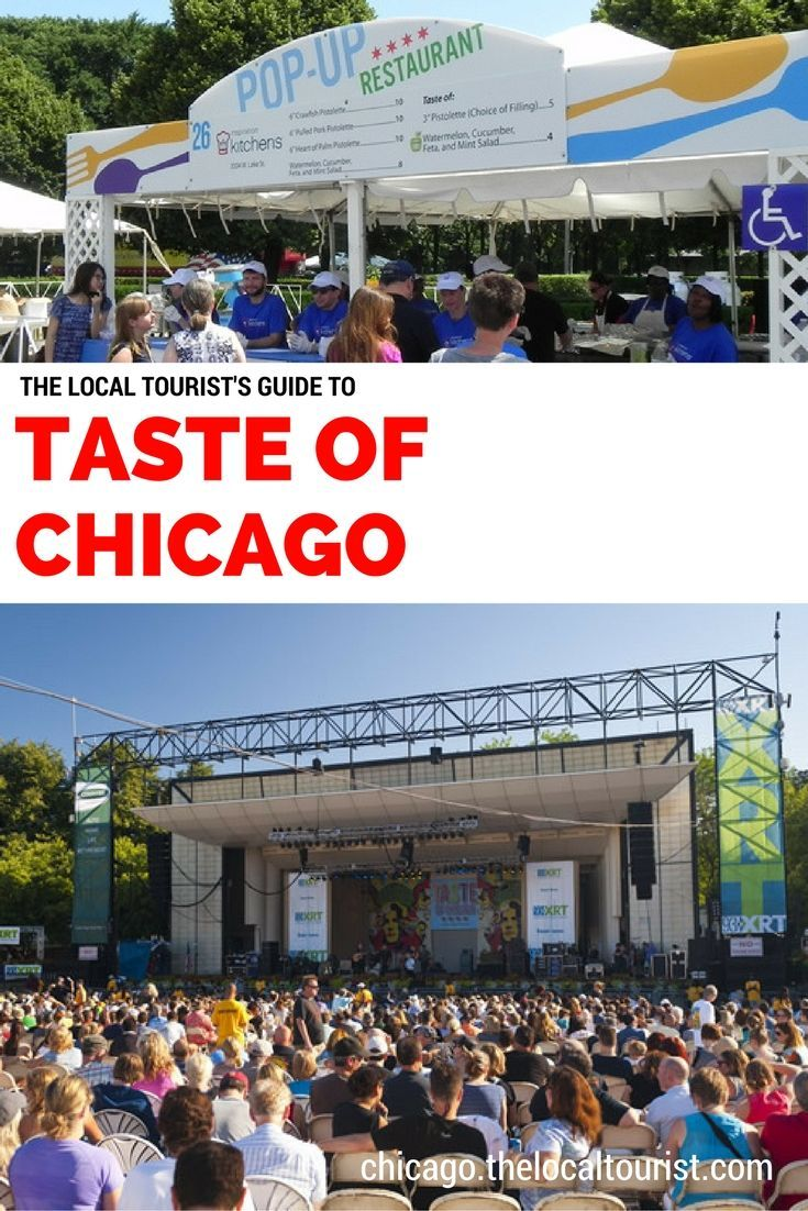 Taste of chicago dates in Brisbane