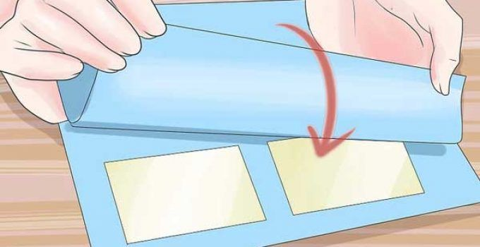 How To Laminate Paper At Home With Plastic Wrap Diy Without Machine Laminating Paper Diy Cards Things To Do When Bored