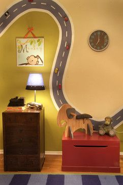 +magnetic Paint + Cars Kids Design Ideas, Pictures, Remodel and Decor