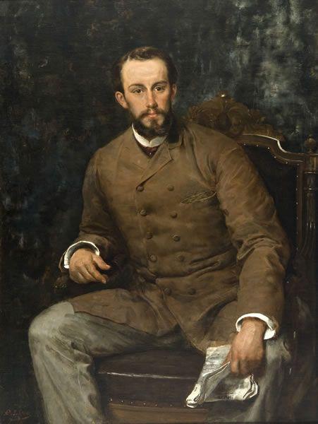 Retrato de Guillermo Puelma Tupper.