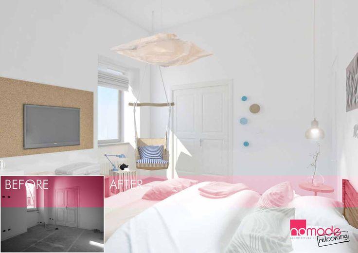 Una camera da letto pensata come Bed and Breakfast. #nomaderelooking #nomadearchitettura#relooking#ristrutturare #interiors#interiordesign #italiandesign #bedroom
